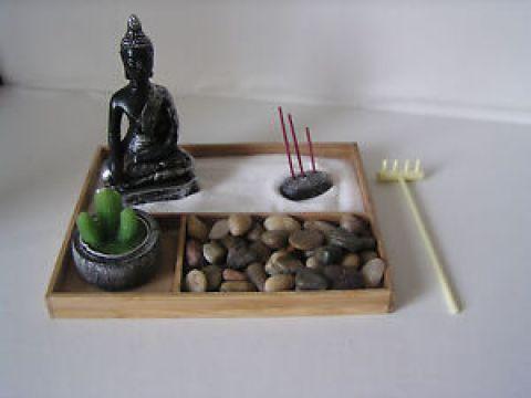 zen garten deko details zu deko-set zen-garten bambus, buddha, feng shui dekoration, buddha  set, zengarten