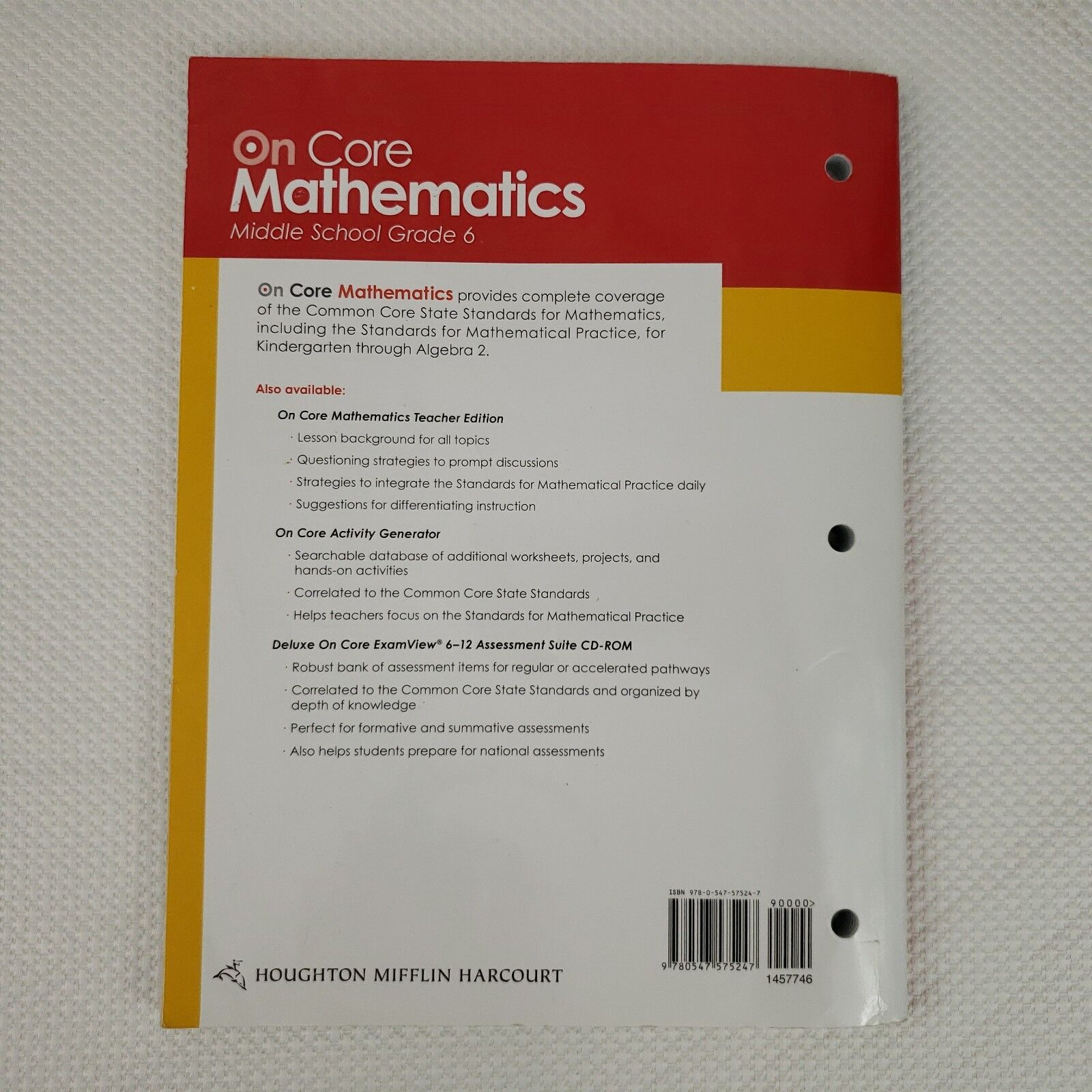 Holt Mcdougal Mathematics Grade 6 Worksheets