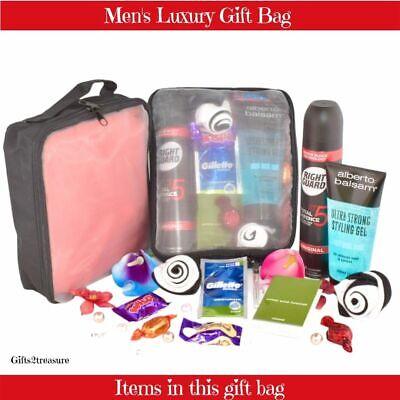 Mens Christmas Gift Bag Dad Birthday Present Boyfriend Son Teen Fathers Day Sets Ebay