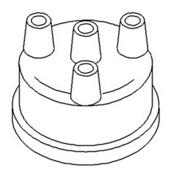3 Cylinder Tractor Distributor Cap for Ford 2600 3000 3600