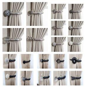أحمق المنبع أبيض curtains with holdbacks