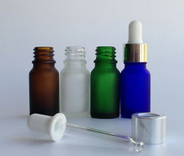 Image Is Loading Wholesale Frosted Tiny Small Glass Dropper Bottles Essential