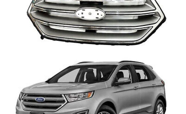 For 2015 2016 2017 2018 Ford Edge Front Upper Bumper Grill