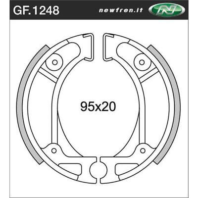 Rear Brake Shoes Fit HONDA XR70R 1997 1998 1999 2000 2001