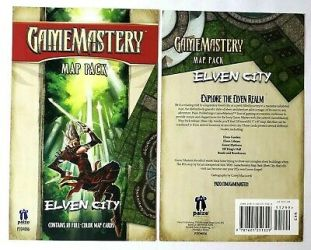 Game Mastery Map Pack Elven City 18 Map Cards eBay