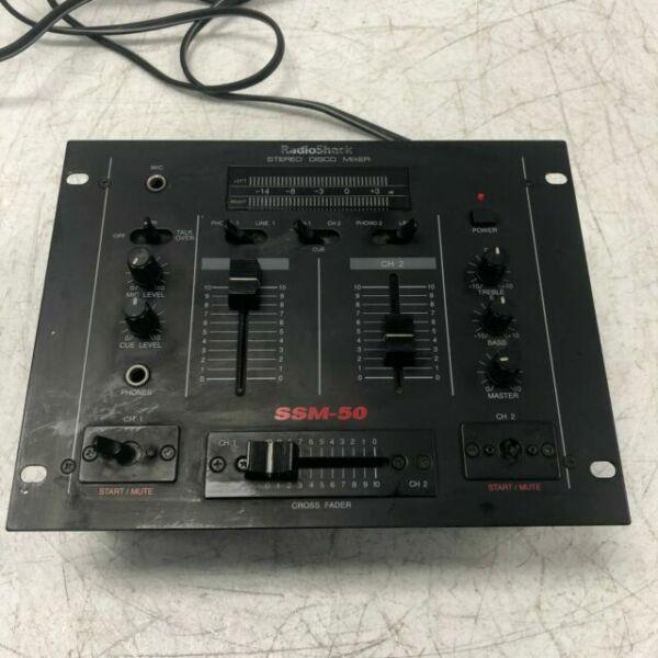 Radio Shack Ssm-50 4 Channel Audio Stereo Sound Mixer for sale online | eBay