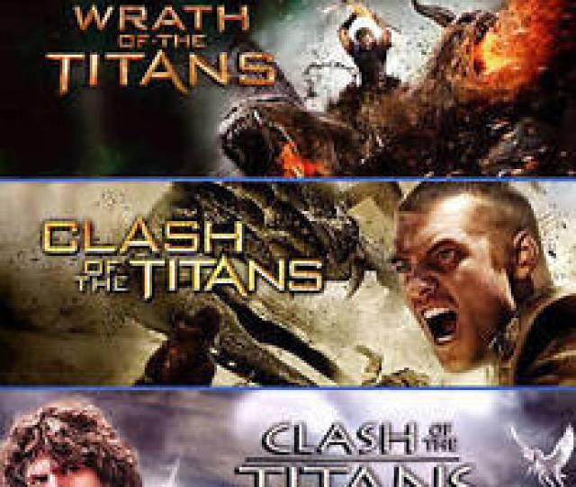 Wrath Of The Titans Clash Of The Titans 2010 Clash Of The Titans 1981 Blu Ray Disc 2015 3 Disc Set