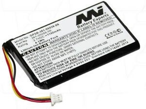 361-00056-00 1100mAh Battery for Garmin Nuvi 30 40 50 LM