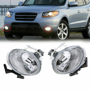 After last week's teaser, hyundai has released some design sketches giving us a better look at the new stylish sante fe. Fit For Hyundai Santa Fe 2007 2008 2009 Fog Light Lh Rh Lamp Assembly Ebay