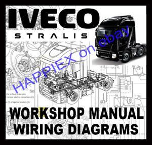 iveco daily 2007 wiring diagram 2000 jeep cherokee sport radio we davidforlife de stralis at ad trucks workshop service repair manual rh ebay com edc 7 euro 5