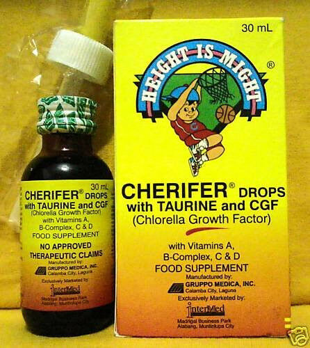 Buy Cherifer Child Baby Todlder Drops Chlorella Growth ...