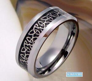 Fingerring Herren Mnner Herr Wolfram Stahl Ring Tungsten 60616264656668  eBay