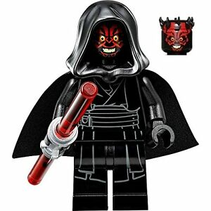 Details About Lego Star Wars Darth Maul With Hood From Set 75096