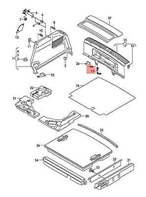 Genuine Velcro 2 doors AUDI Audi A3 S3 Sportback Lim