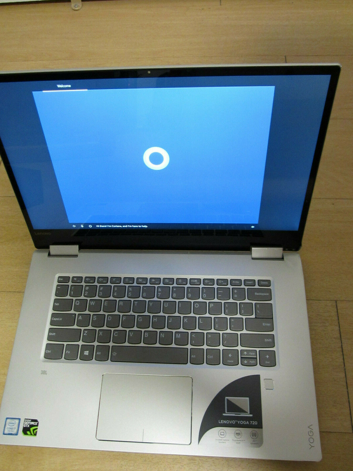 Lenovo Yoga 720 Ports : lenovo, ports, Lenovo, 15.6
