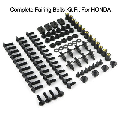 Motorcycle Complete Bolts Kit Fairing Bodywork Screws Nuts