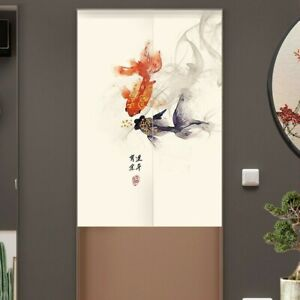 details about chinese door curtain feng shui tapestry japan kitchen doorway room divider