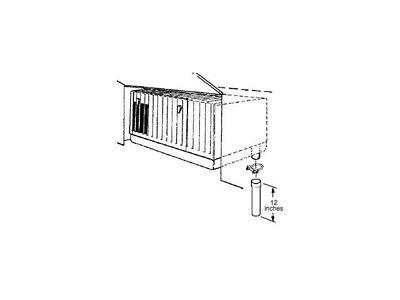 Onan 155-2850 Onan Exhaust Tube for 4000/3600 MicroQuiet