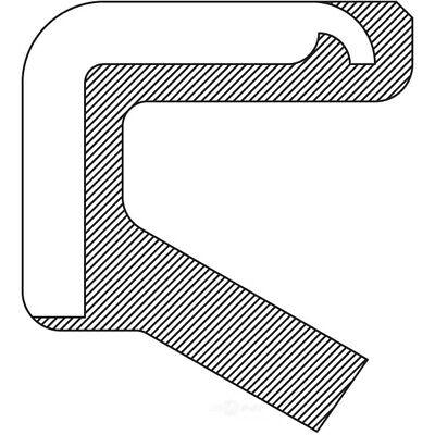 Auto Trans Manual Shaft Seal fits 1962-1987 Volvo 245 122