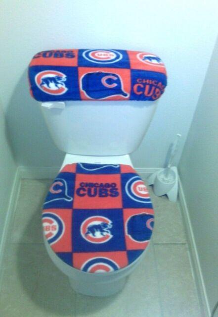 Chicago Bears Toilet Seat : chicago, bears, toilet, Chicago, Bears, Fleece, Toilet, Cover, Bathroom, Accessories, Online