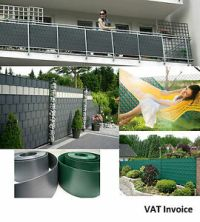 Privacy Garden Fence Mesh Panel Cover Balcony Shade Screen ...