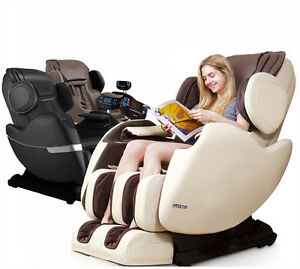 recliner massage chair teak chairs outdoor electric full body shiatsu zero gravity image is loading