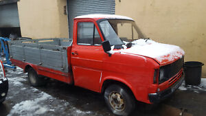 FORD TRANSIT MK2 TWIN WHEEL PICK-UP RUNNING DRIVING RESTO PROJECT / EXPORT