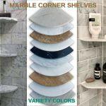 8 Marble Shower Corner Shelf Emperador Brown Stone Bathroom Caddy Soap Dish For Sale Online Ebay
