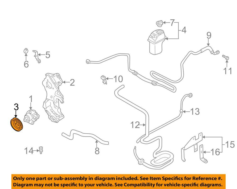 medium resolution of steering diagram 2004 jetta tdi wiring diagram paper power steering pump pulley 2004 volkswagen jetta tdi