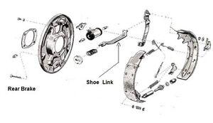 1965 1966 1967 1968 1969 1970 Mustang 9 inch Rear Drum