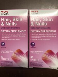 Cvs Hair Skin And Nails : nails, Health, Nails, Caplets, Antioxidants