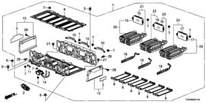 2014 2015 Honda Accord Hybrid Battery Pack 1D100-5K1-C00RM