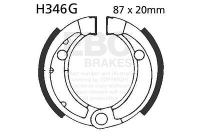 FIT ADLY GK 125 Buggie 03>07 EBC FRONT GROOVED BRAKE SHOES