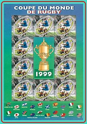 Coupe Du Monde Rugby 1999 : coupe, monde, rugby, FRANCE, RUGBY, WORLD, SPORTS,, FLAGS