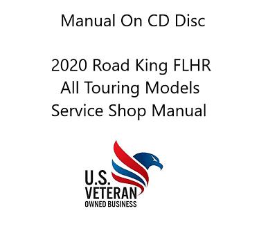 CD Service Manual For 2020 Harley Davidson Road King FLHR