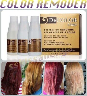 decolor time hair color