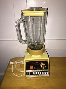 Vintage Working Osterizer Imperial Dual Range Toucha