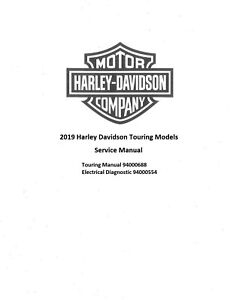 2019 Harley Davidson Road King Special Service Manual