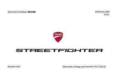 Ducati Parts Manual Book Chassis & Engine 2012