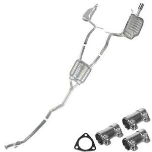 Catback Exhaust System Kit fits: 05-09 Audi A4 Quattro 2