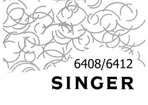 Singer 6408-6412 Sewing Machine/Embroidery/Serger Owners