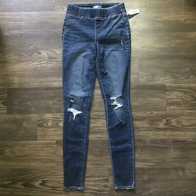 Old Navy Rockstar Jeggings NWT Size 2 Tall Mid Rise ...