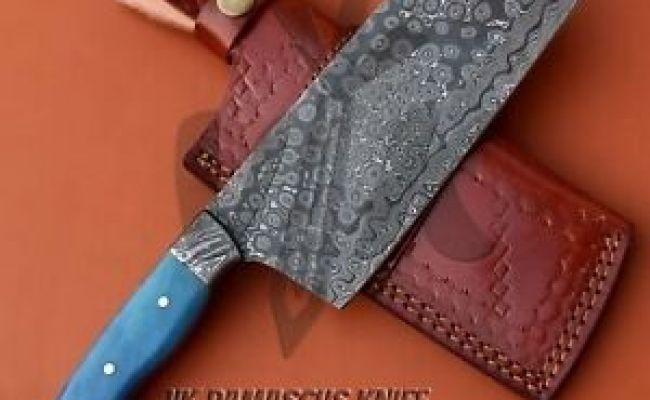 Vk5512 Handmade Damascus Steel Chef Cleaver Chopper Knife