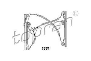 Manual Window Regulator Repair Kit RIGHT FRONT 2DR Fits VW