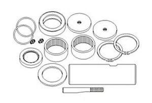 New King Pin Kit D103156 for Case Backhoes 480C, 480D