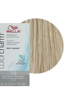 Image is loading wella color charm permament liquid hair toner also ml natural rh ebay