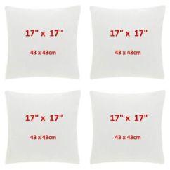Sofa Pads Uk Signature Ashley 17 Inch Cushion Fluffy Inserts For Cushions Made 30 Image Is Loading