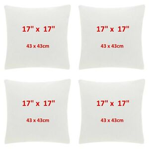 sofa pads uk smallest sectional available 17 inch cushion fluffy inserts for cushions made 30 image is loading