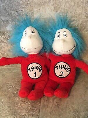 "Thing 1 And Thing 2 Images : thing, images, Seuss, Thing, Plush, 12"", Movie, Merchandise"