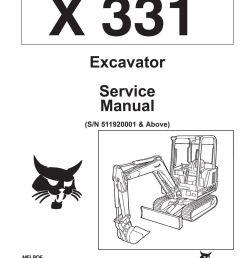 bobcat 331 compact excavator service manual shop repair book 1 part bobcat 331 compact excavator service [ 1000 x 1294 Pixel ]